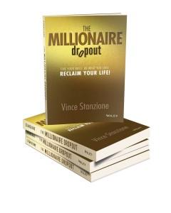 vince stanzione millionaire dropout book NYT Bestseler