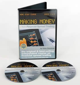 Make Money Trading Shares - How To Spread Bet Shares & ETFs, Making Money From Financial Spread Trading 2 DVDs Vince Stanzione Financial Spread Betting Learn to trade